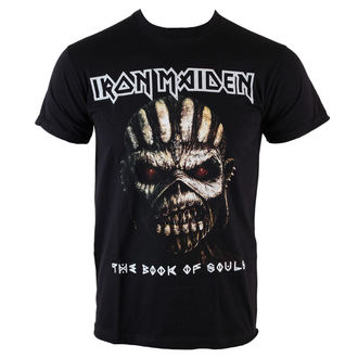 t-shirt metal men's Iron Maiden - Book Of Souls - ROCK OFF - IMTEE44MB