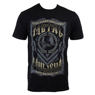 t-shirt street men's - Die Last - METAL MULISHA - BLK