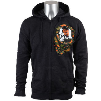 hoodie men METAL MULISHA - Lost - CHARCOAL