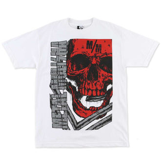 t-shirt street men's - Raider - METAL MULISHA - WHT