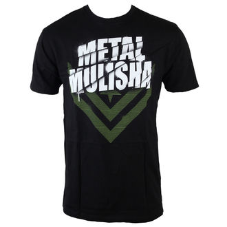 t-shirt men METAL MULISHA - White Shadow - BLK