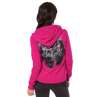 hoodie women's - Ditto - METAL MULISHA - PINK