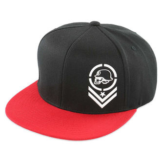 cap METAL MULISHA - Mass - BLK / RED