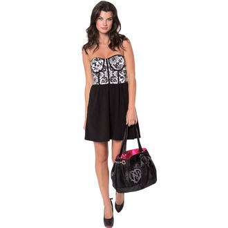 dress women METAL MULISHA - Medallion - WHT / BLK