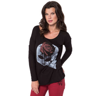 t-shirt street women's - X-Ray - METAL MULISHA - BLK