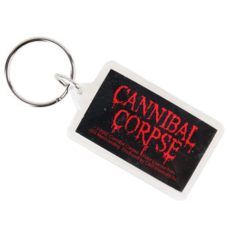 key ring (pendant) Cannibal Corpse - Logo, C&D VISIONARY, Cannibal Corpse