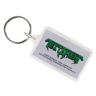 key ring (pendant) Testament - Logo, C&D VISIONARY, Testament