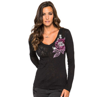 t-shirt street women's - Alternative - METAL MULISHA - BLK