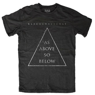 t-shirt men BLACK CRAFT - As Above So Below - Black - MT109AW