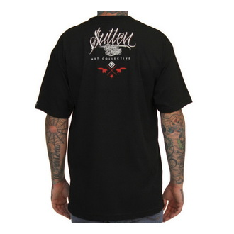 t-shirt hardcore men's - Ivano Payasa - SULLEN - BLK