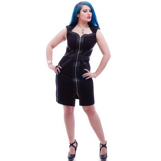 dress women NECESSARY EVIL - Gothic Luna - Black - N1207