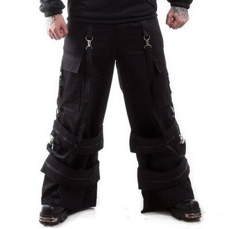 pants men NECESSARY EVIL - Cratos o Ring - Black - NE0019B