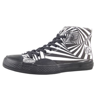 high sneakers men's - Canvas HI - VISION, VISION