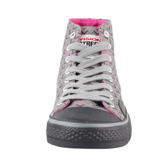 high sneakers women's - Canvas HI - VISION - VWF3FWCH01