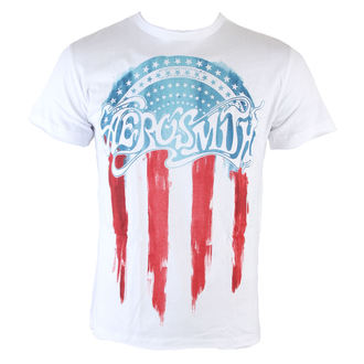 t-shirt metal men's Aerosmith - Flag - AMPLIFIED - AV210ARF