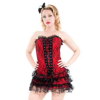 dress women HEARTS AND ROSES - Red Moulin Rouge
