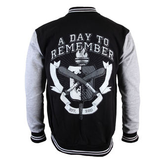 sweatshirt (no hood) men's A Day to remember - University - VICTORY RECORDS, VICTORY RECORDS, A Day to remember