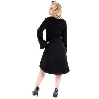 coat women's spring/autumn HEARTS AND ROSES - Reincarnation Black - 0714
