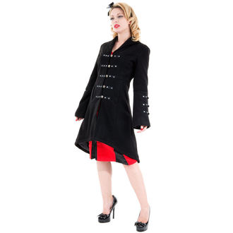 coat women's spring/autumn HEARTS AND ROSES - Reincarnation Black, HEARTS AND ROSES