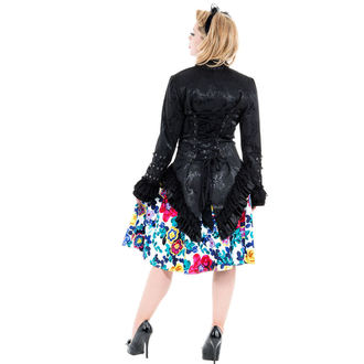jacket women's spring/fall HEARTS AND ROSES - Black Victorian Brocade, HEARTS AND ROSES