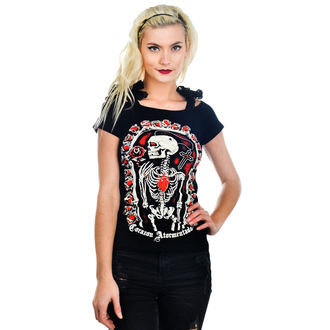 t-shirt gothic and punk women's - Annabel Bow - TOO FAST - Atormentado