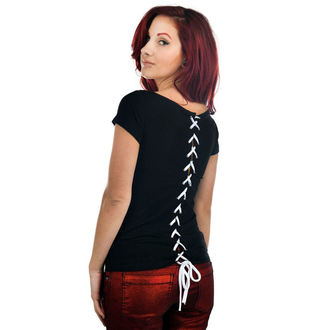 t-shirt gothic and punk women's - Lola - TOO FAST