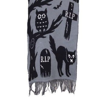 scarf TOO FAST - Knit-In - Graveyard