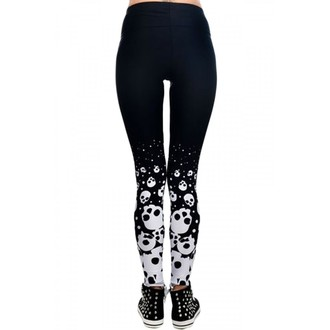 pants women (leggings) TOO FAST - Lexy - Skulls