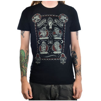 t-shirt gothic and punk men's - Horror Nation - TOO FAST