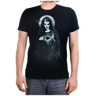 t-shirt gothic and punk men's - Holy Lily - TOO FAST - Black