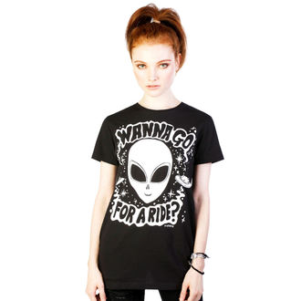 t-shirt hardcore women's - Ride - DISTURBIA - DIS722