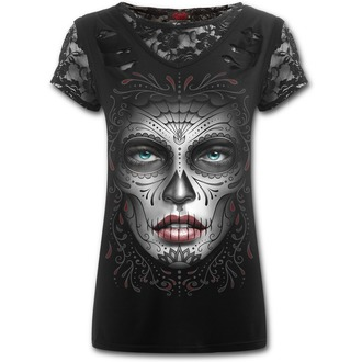 t-shirt women's - Death Mask - SPIRAL - E019F743