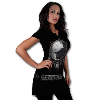 dress women SPIRAL - Wolf Chi - Black - T118F108