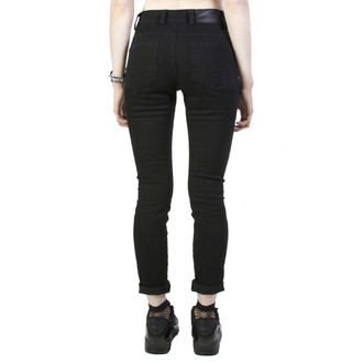 pants women Disturbia - Hell - Black - DIS731
