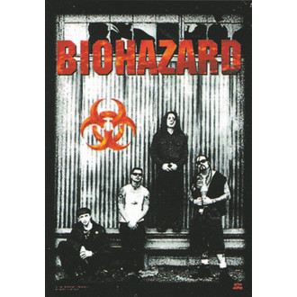 flag Biohazard - Band, HEART ROCK, Biohazard