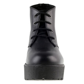 leather boots women's - Nero - ALTERCORE