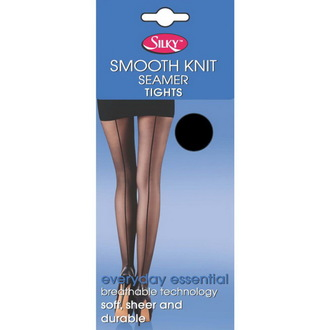 tights Legwear - Smooth Knit - Black - SHSKTS0BL1