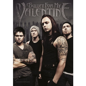 flag Bullet For My Valentine - Band Photo - HFL1072