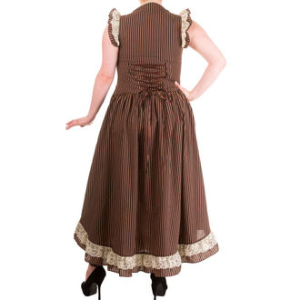 dress women BANNED - Brown Stripe