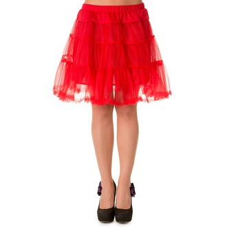 skirt women's (petticoat) BANNED - Red, BANNED