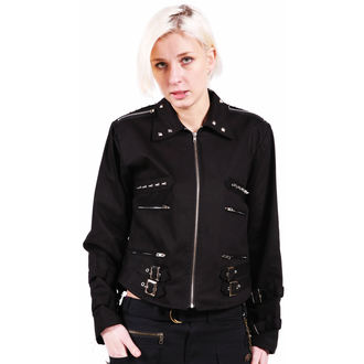 spring/fall jacket women's - Black - DEAD THREADS - LJ9420