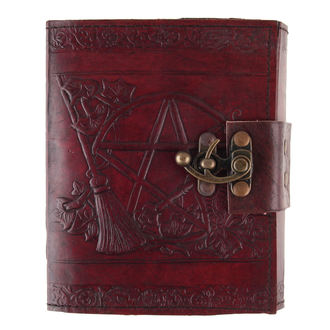 writing notepad Pentagram Leather Emboss Journal - D1021C4
