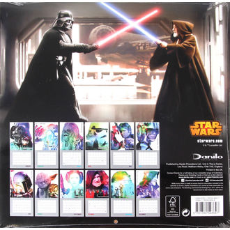 calendar to year 2016 - Star Wars - 261