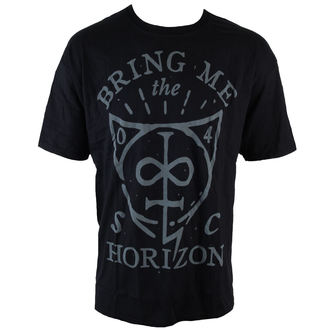 t-shirt metal men's Bring Me The Horizon - Hand Drawn Shield - ROCK OFF - BMTHTS21MB