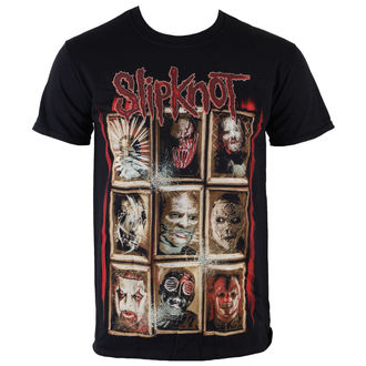 t-shirt metal men's Slipknot - New Masks - ROCK OFF - SKTS13MB