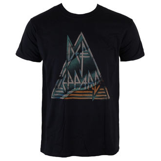 t-shirt metal men's Def Leppard - Pyramid - LIVE NATION - PE12715TSBP