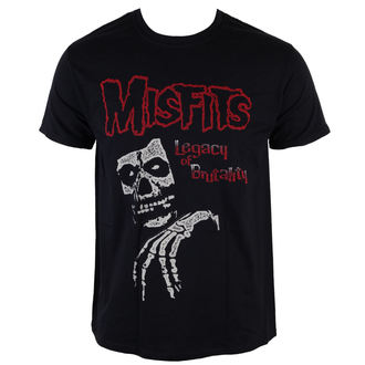 t-shirt metal men's Misfits - Legacy Of Brutality - LIVE NATION - PE12710TSBP