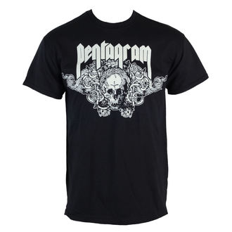 t-shirt metal men's Pentagram - Skull - RAZAMATAZ - ST1688