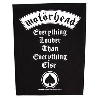 patch large Motörhead - Everything Louder - RAZAMATAZ - BP0820