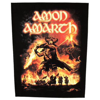 patch large Amon Amarth - Surtur Rising - RAZAMATAZ, RAZAMATAZ, Amon Amarth